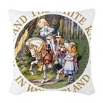 ALICE AND THE WHITE KNIGHT_GOLD copy Woven Thr