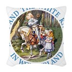 ALICE AND THE WHITE KNIGHT_BLUE copy Woven Thr