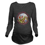Alice Encounters Tal Long Sleeve Maternity T-Shirt