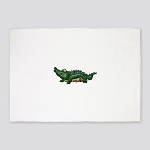 Gang Green Gator 5'x7'Area Rug