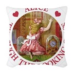 Alice THROUGH THE LOOKING GLASS_RED copy Woven