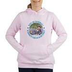 ALICE WHY BE NORMAL_blue copy Women's Hooded S