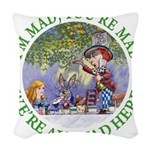 ALICE MAD HATTER WHY BE NORMAL_GREEN copy Wove
