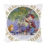 ALICE MAD HATTER WHY BE NORMAL_RED copy Woven