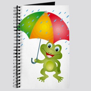 Frog Under Umbrella in the Rain Journal