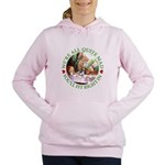 ALICE_ Were all Mad_GREEN copy Women's Hooded