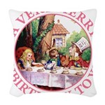 ALICE MAD HATTER unbirthday hrt pink copy Wove