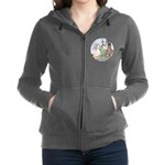 In Powder and Crinoline012_SQ Women's Zip Hood