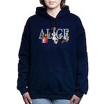 ALICE _BLUE_special_FINAL copy Women's Hooded