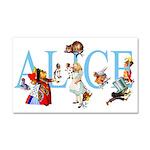 ALICE _BLUE_special_FINAL copy Car Magnet 20 x