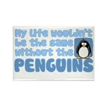 Without Penguins Rectangle Magnet