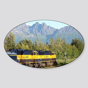 Alaska Railroad locomotive eng Sticker