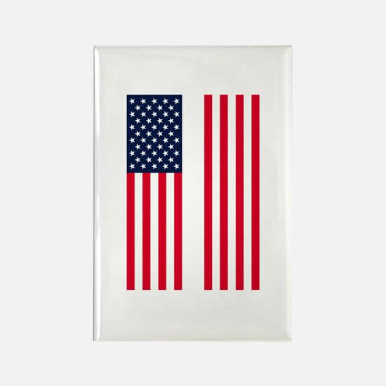 Patriotic Twin Towers Rectangle Magnet