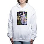 The Rose Fairies002x_10x14 Women's Hooded Swea
