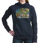 The Fairy Circus004_10x14 Women's Hooded Sweat