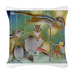 The Fairy Circus004_10x14 Woven Throw Pillow