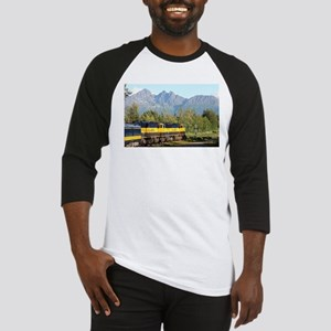 Alaska Railroad locomotive engine Baseball Jersey