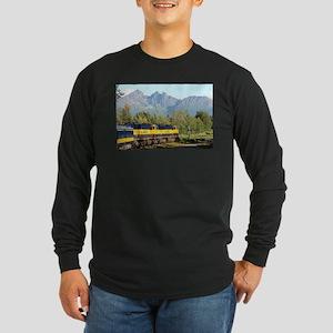 Alaska Railroad locomotive eng Long Sleeve T-Shirt