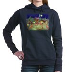 The Fairy Circus003_10x14 Women's Hooded Sweat