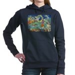 The Fairy Circus002_10x14 Women's Hooded Sweat