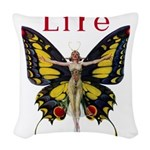 Leyendecker Butterfly_MASTER copy Woven Throw
