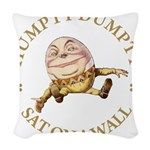 ALICE_HUMPTY DUMPTY_GOLD copy Woven Throw Pill