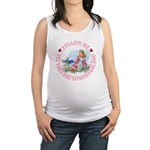 ALICE_follow me MJ PINK 2 copy Maternity Tank
