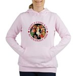 ALICE_people come and go_RED copy Women's Hood