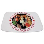 ALICE_people come and go_RED copy Bathmat