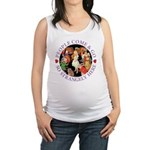 ALICE_people come and go_PURP copy Maternity T