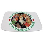 ALICE_people come and go_green copy Bathmat