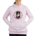 ALICE_DOWN THE RABBIT HOLE_RED Women's Hooded
