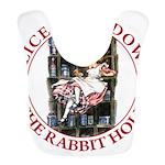 ALICE_DOWN THE RABBIT HOLE_RED Bib