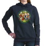 alice too thin_GREEN copy Women's Hooded Sweat