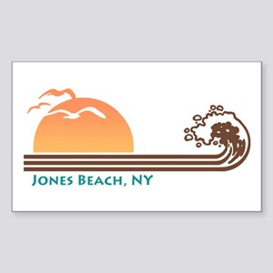 Jones Beach NY Sticker (Rectangle)