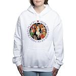 ALICE_CRAZY_PURPLE copy Women's Hooded Sweatsh