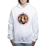ALICE_CRAZY_PINK copy Women's Hooded Sweatshir