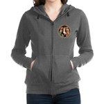 ALICE_CRAZY_GOLD copy Women's Zip Hoodie