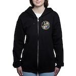 ALICE_CATERPILLAR_GOLD_3 copy Women's Zip Hood