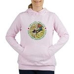 alice RABBIT im late_green copy Women's Hooded
