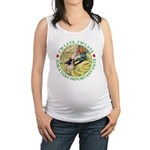 alice RABBIT im late_green copy Maternity Tank