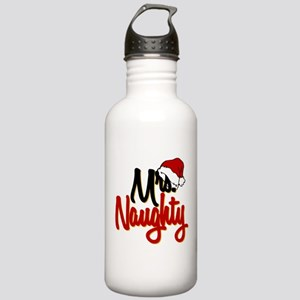Christmas Mrs Naughty Stainless Water Bottle 1.0L