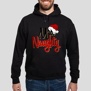 Christmas Mrs Naughty Hoodie (dark)