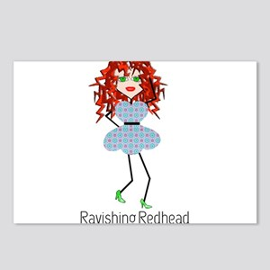 Ravishing Redhead Postcards (Package of 8)
