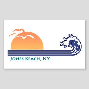 Jones Beach NY Sticker (Rectangle)