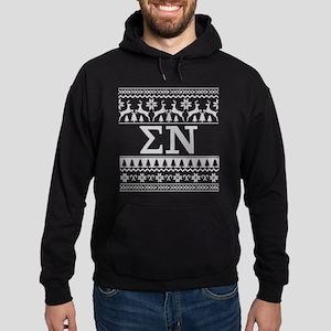 Sigma Nu Ugly Christmas Hoodie (dark)
