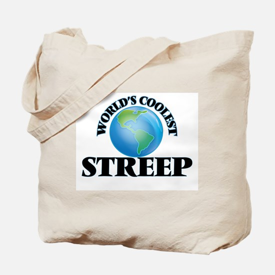 World's Coolest Streep Tote Bag