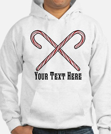 Candy Canes Personalized Jumper Hoody