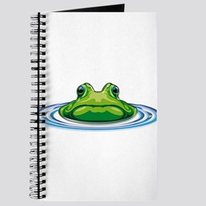 Frog From the Deep Lagoon Journal