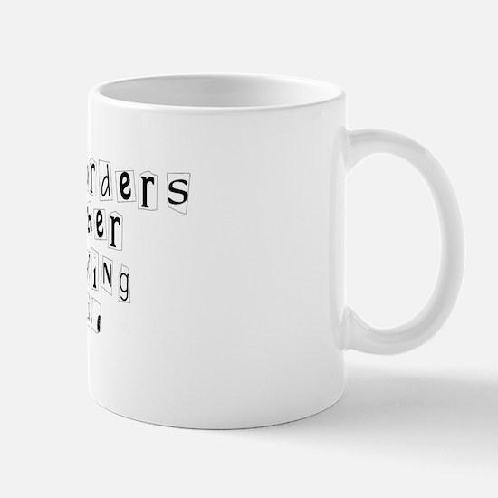 Restraining Orders.. Mug